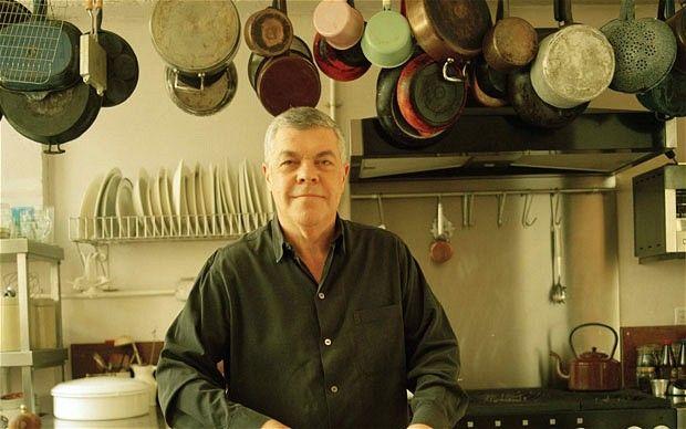 Simon Hopkinson in the kitchen