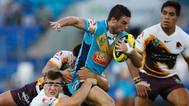The Gold Coast Titans welcome to back a number of players. Greg Bird returned in the second row after serving a suspension, while Nate Myles are obligations of origin. And good to see by Kevin Gordon on the wing. Tweed flyer seagulls has appointed James Roberts in 18.  Ivan clearly has named the same 17 that seven tries in a Jarryd Hayne-less Paramatta put last week appointed. Despite injury panic, James Segeyaro, Sam McKendry and Dean Whare all nominated.