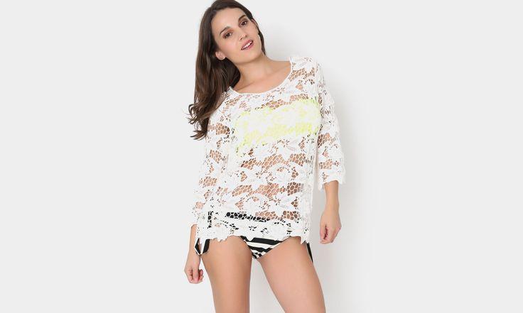 #beach #beachstyle #beachwear #summer #tejido #crochet  #white #boho #colors #transparencia #playa #fashion #moda #mexicana https://www.facebook.com/peccatumbysolperea