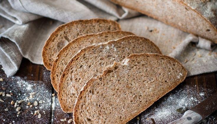 Pane Antichi sapori, con farina molita a pietra e semi di zucca e girasole