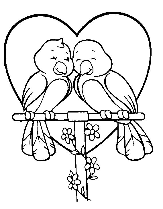 106 best Valentine Coloring Pages images on Pinterest | Drawings ...
