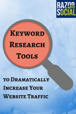 5 Keyword research tools to dramatically increase your website traffic...Thanks +RazorSocial #keywordresearch #keywrod