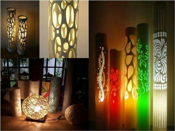 pvc pipe lamps pvc pinterest beaches tables and
