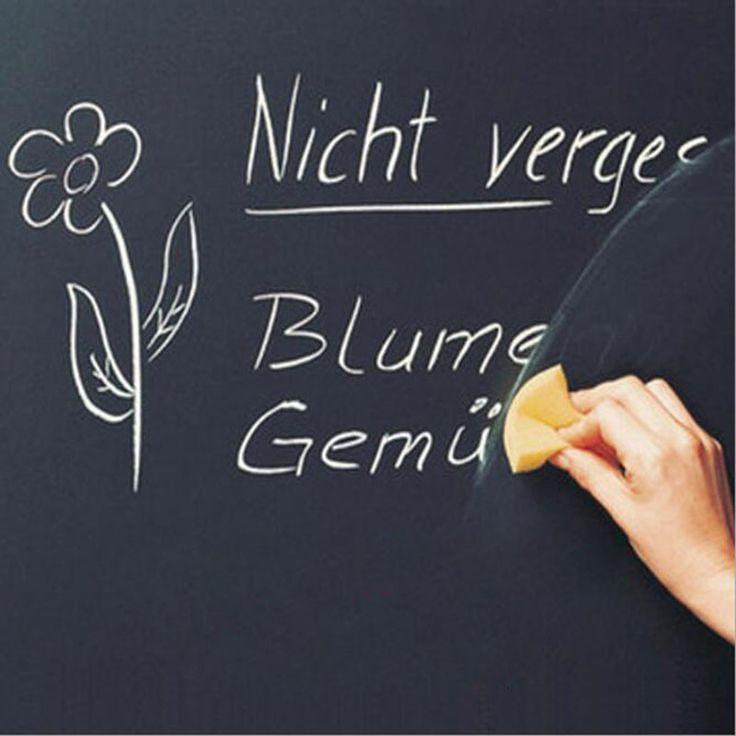 1pc Blackboard Stickers Removable Vinyl Rewable Graffiti Stickers Research Boards Message Board 45x100cm