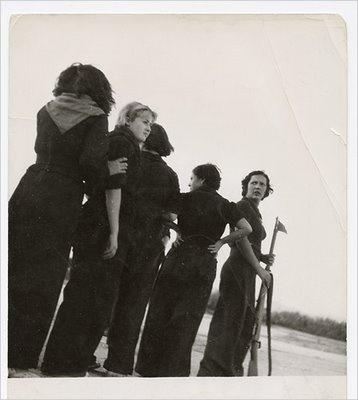 Milicianas de La Guerra Civil Española (1936-1939). Gerda Taro