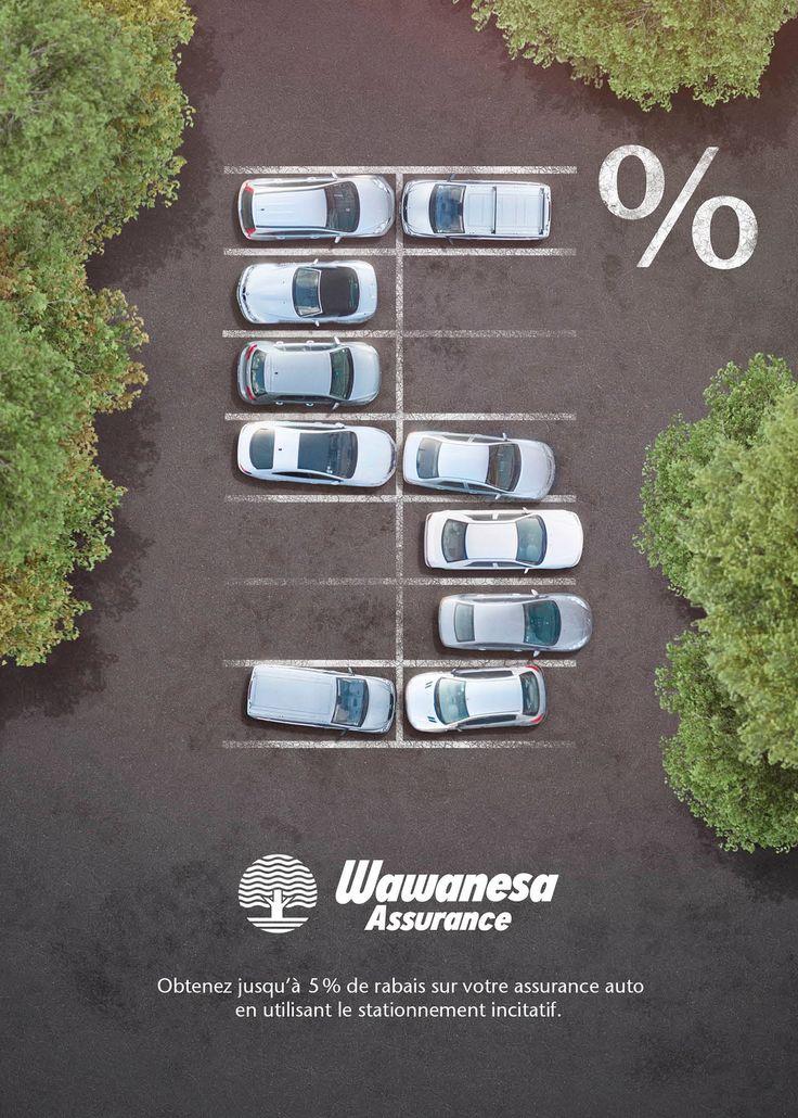 Wawanesa / Stationnements Incitatifs on Behance