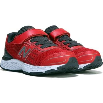 New Balance Kids' 680 V5 Medium/Wide Strap Sneaker Pre/Grade School at Famous Footwear