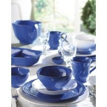 Vietri Marina Blu Dinnerware. starting at $36.