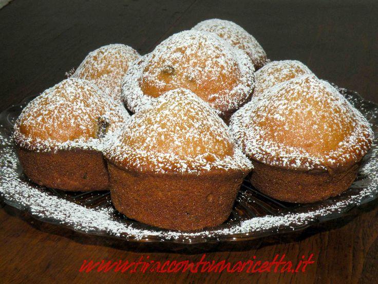 Muffin ricotta e visciole