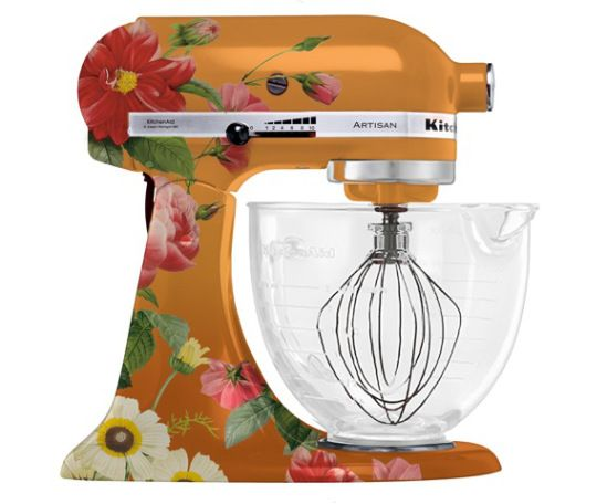 Completion Of Custom Hand Painted KitchenAid Mixers