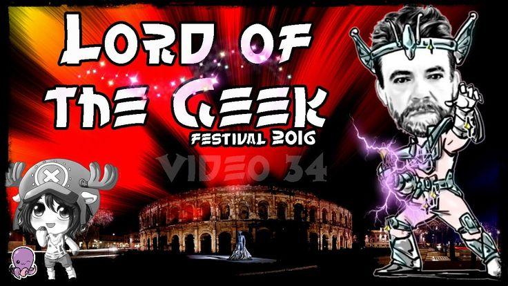 Visite du Festival LORD OF THE GEEK 2016 à NImes. #gaming #geek #lordofthegeek #2016 #cosplay #video