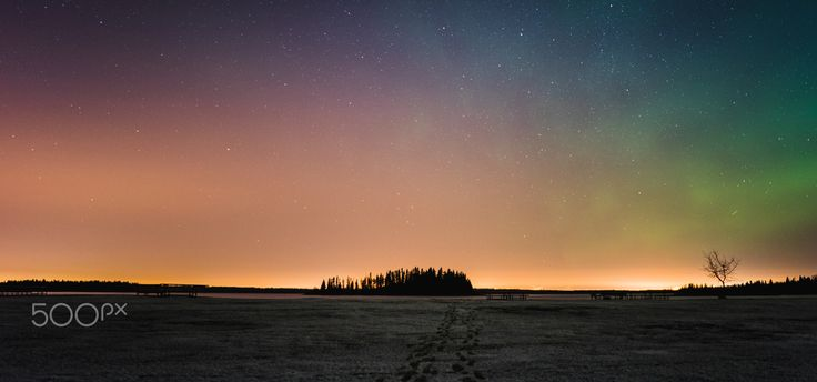 Taken at Elk Island National Park, just after midnight. One of my favorite locations to shoot. If you're ever in Alberta, make a visit!