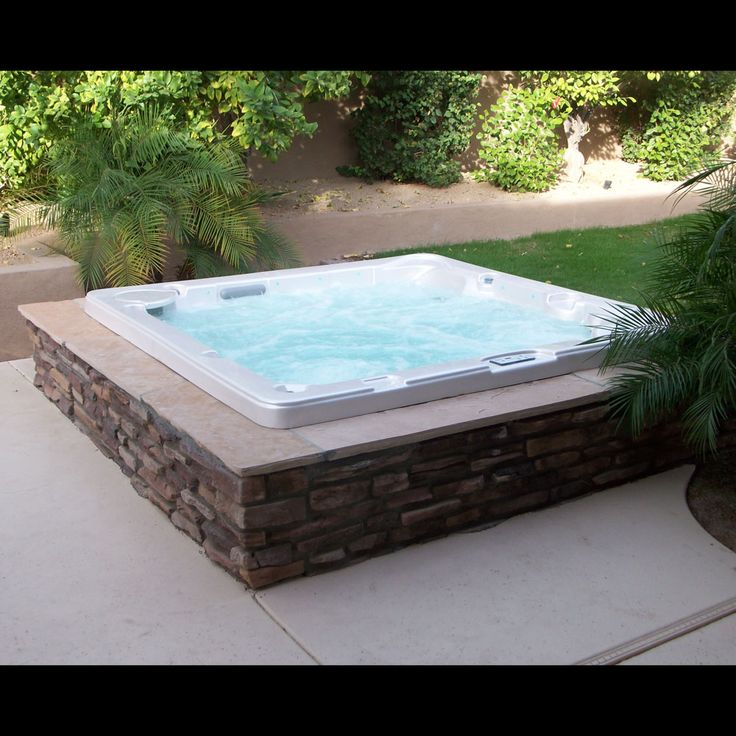 In Ground Spa Hot Tubs And Spas On Pinterest