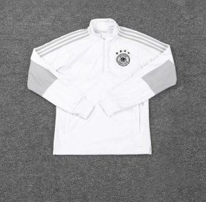 Germany 2018 White Football Sweater Top [L550]