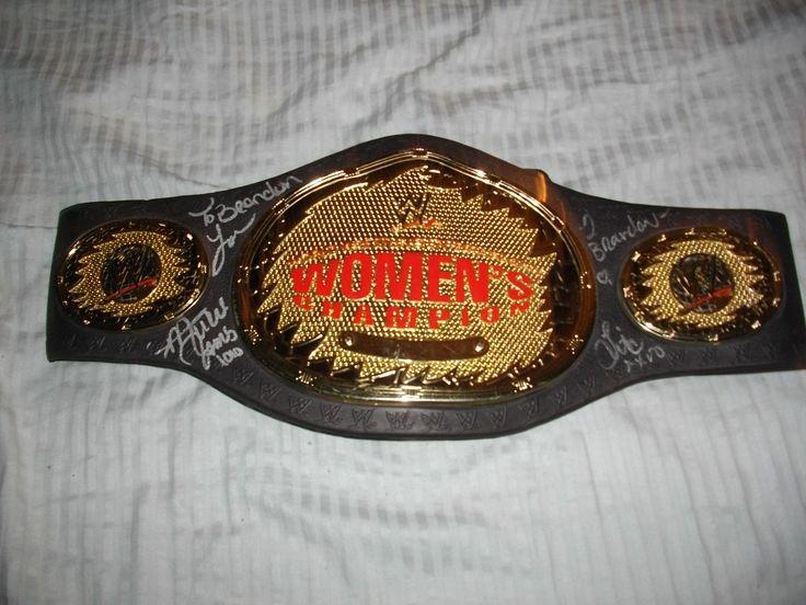 wwe wrestling womens jakks championship belt signed mickie james lita melina nxt - http://bestsellerlist.co.uk/wwe-wrestling-womens-jakks-championship-belt-signed-mickie-james-lita-melina-nxt/