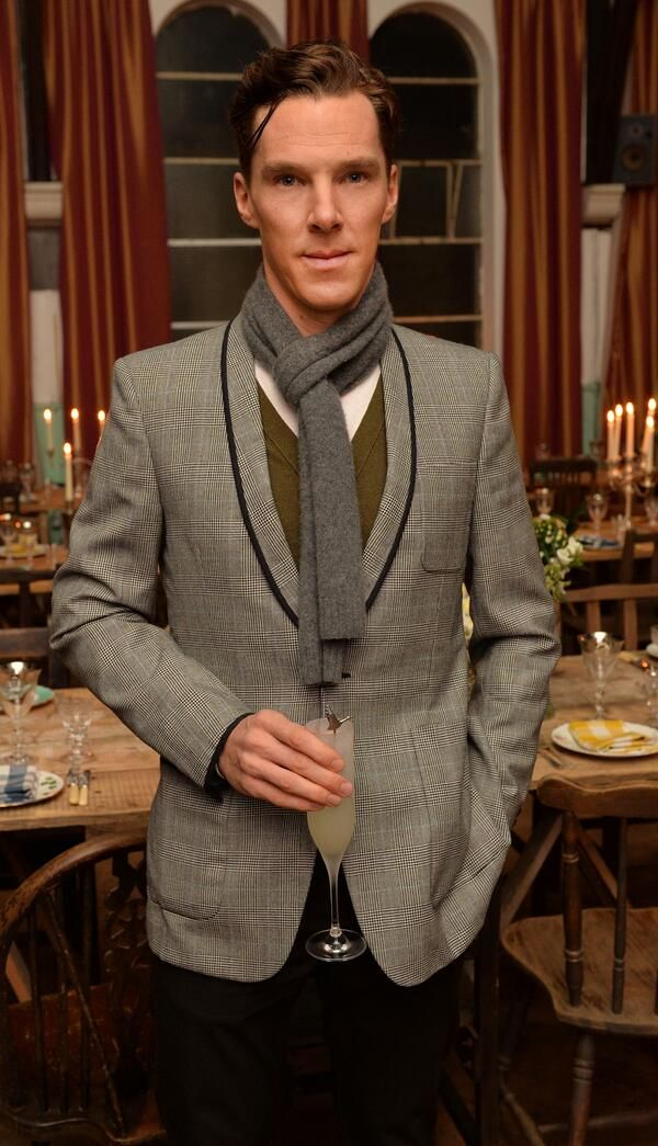 Never fail to impress with a fancy dinner. Just add a scarf to the Benedict Cumberbatch you already have!