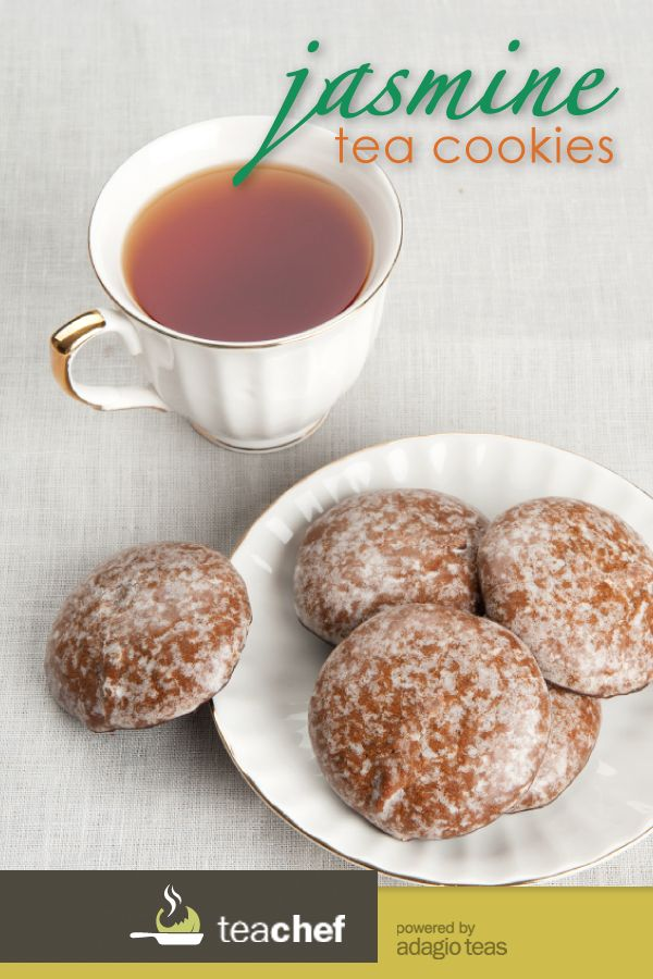 Jasmine Tea Cookies by Lana Young - A delicious way to have your tea and eat it too.