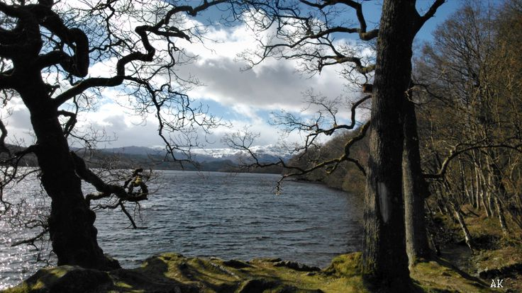 The Trossachs  #Scotland #landscape #loch #mountains