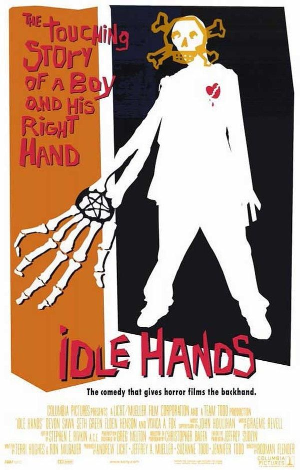 003 Idle Hands (1999) Original movie posters, Movie posters