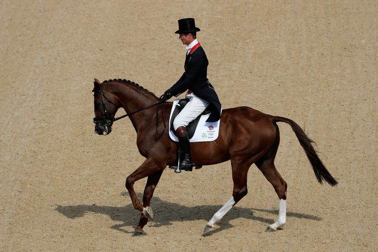 Team GB's William Fox-Pitt at Rio 2016