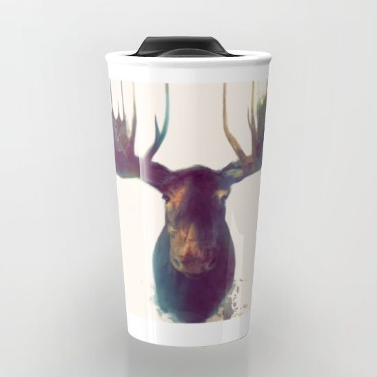 moose, antlers, nature, animal, wild, wildlife, neutral