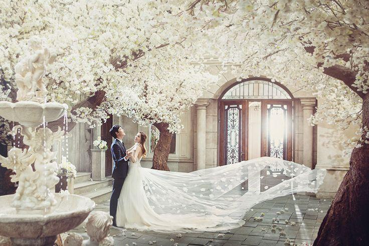 Korean Studio Pre-Wedding Photography: 2016 Romantic Vintage Collection  by Bong Studio on OneThreeOneFour 29