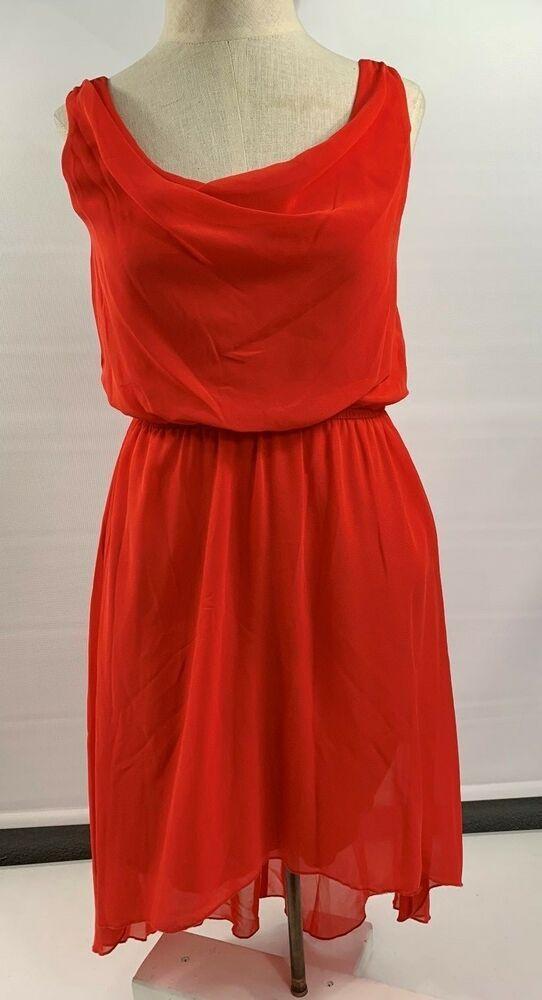 5b17e23cec Sweet Storm Womens Orange Party Halter Dress SZ S Lined Dress Back longer  RC24  fashion  clothing  shoes  accessories  womensclothing  dresses (ebay  link)