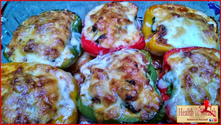 Strong and Beyond: Lasagna Stuffed Peppers