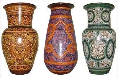 Marajoara pottery, Pará, Brazil.