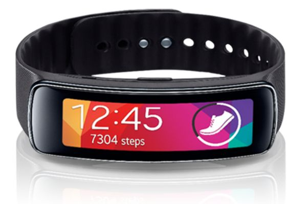 Samsung (along with AT&T) have brought us the next step in fitness bands with the Gear Fit. Gear Fit integrates with your Galaxy S5 and is able to track all of your fitness stats you need.