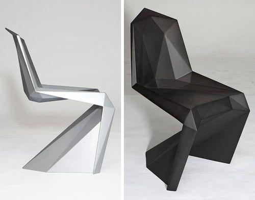 Diseño de Interiores: Escuela de Arte de Motril: la geometría en la silla