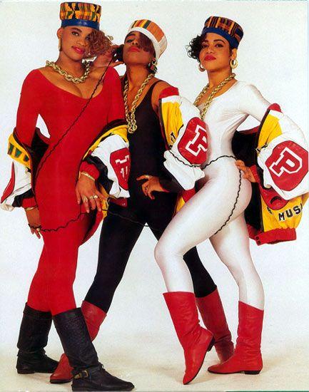 Salt-n-pepa 80s Fashion Clothes Style Saltnpepa Salts N