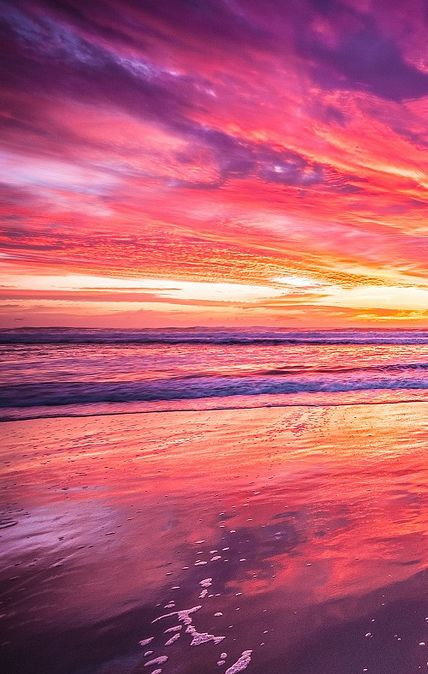 What A Morning, Surfers Paradise sunrise, Gold Coast, Queensland, Australia, by James McGregor