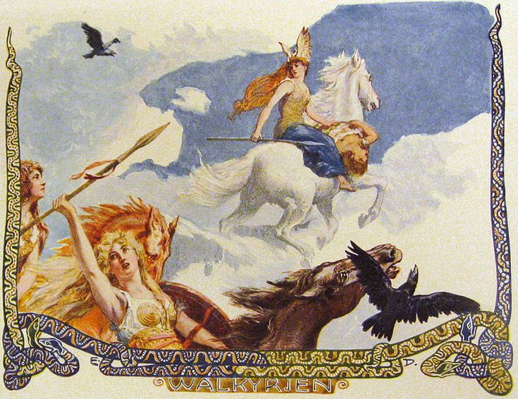 The other half would go to the goddess Freya's afterlife field Folkvangr. Freya always had the first pick, of the fallen Vikings. Odin allowed some of the maidens to take the form of beautiful white swans, but if a Valkyrie was seen by a human without her swanlike disguise, she would become an ordinary mortal and could never again return to Valhalla. -