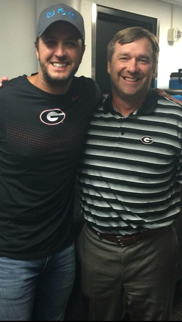 Luke Bryan & Coach Kirby Smart