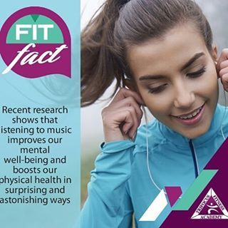 Music for the soul and health #fitfact #ultimate #fitness #music #wellness #exercise #knowyourfacts #fitfam #push #improve #results #ripped #body #makeithappen #loveit  http://www.trifocusfitnessacademy.co.za/