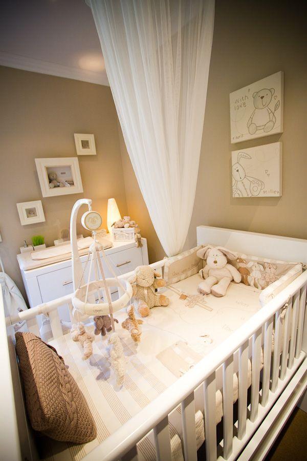 neutral nursery theme add accent color decor after the baby is born