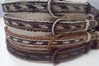 5 strand side tassel horse hair hat band  Cowboy hat band / western hat band