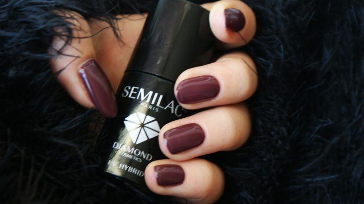 Semilac Dark Chocolate 030