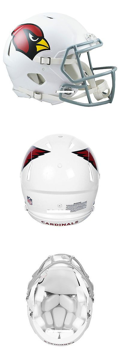 Helmets and Hats 21222: Arizona Cardinals Riddell Authentic Speed Football Helmet -> BUY IT NOW ONLY: $199.99 on eBay!