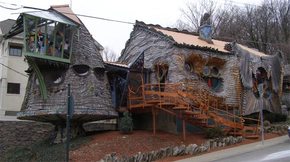 The Mushroom House (aka Tree House), Ohio, USA