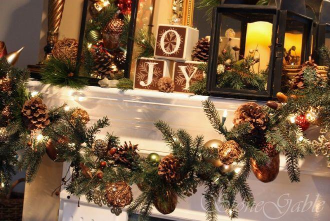 Картинки по запросу новогодний декор из шишек