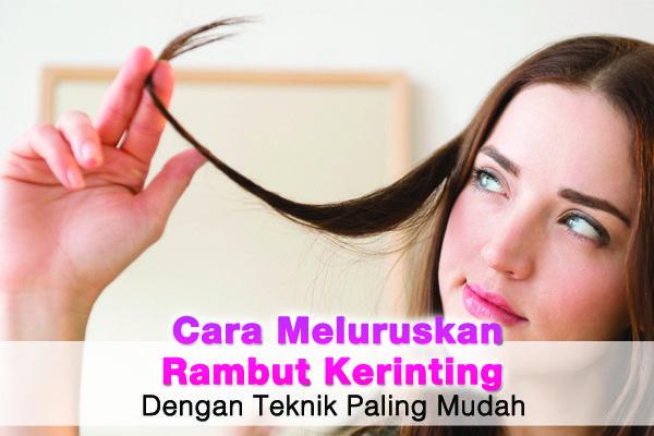 Kamu yang berambut keriting ingin tahu cara meluruskan rambut keriting secara semulajadi? Ketahuinya di www.wom.my