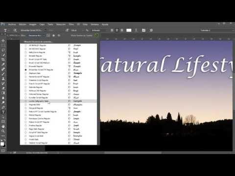 Añadir luces y textura a un fondo - YouTube