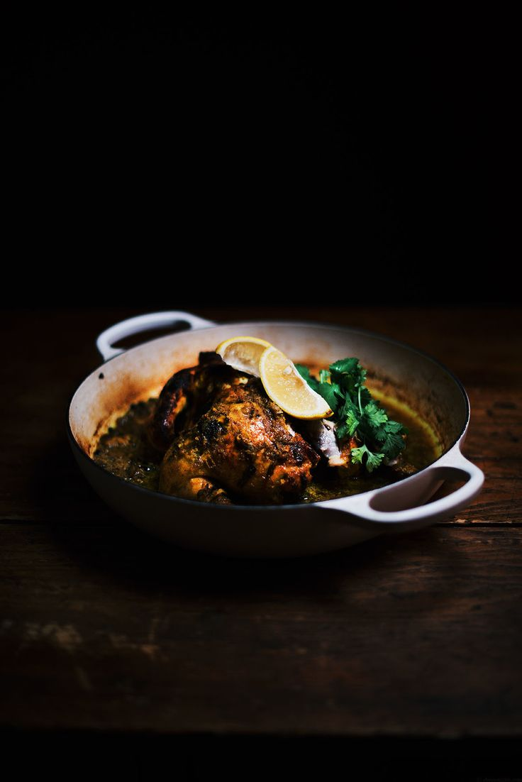 Turmeric and Yogurt Spiced Oven Roasted Chicken | A Brown Table