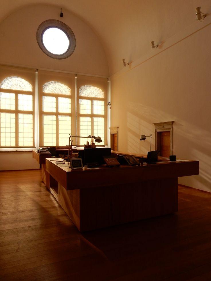 San Giorgio 13 (Fondazione Cini - Biblioteca progetto De Lucchi)