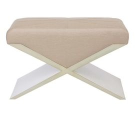 Facette Bench  Contemporary, MidCentury  Modern, Transitional, Upholstery  Fabric, Wood, Bench by Natasha Baradaran