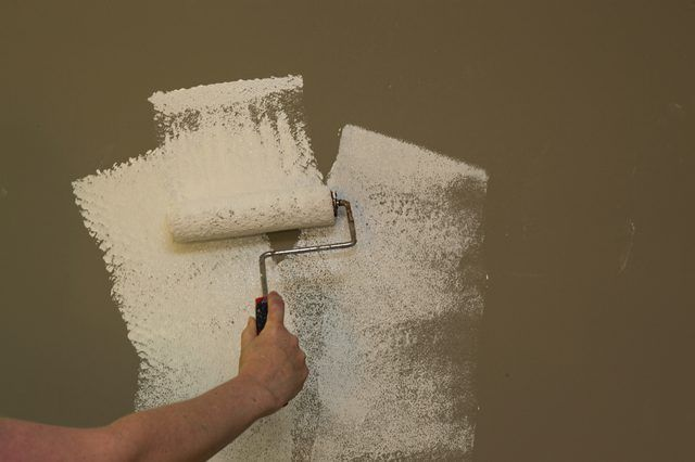 How To Make Paneling Look Like Sheet Rock Hunker Painting Wood Paneling Interior Wall Paint Painting Over Paneling