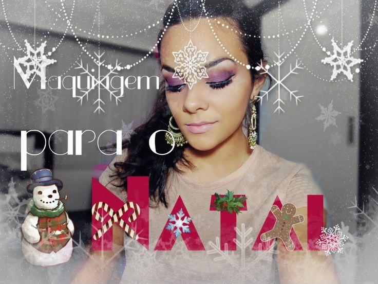 Maquiagem para o Natal #Dezembrotododia21