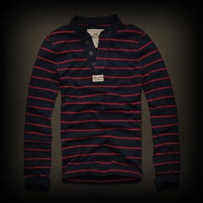 Hollister メンズ ポロシャツ ホリスター Beacons Beach ヘンリーポロシャツ-アバクロ 通販 ショップ-【I.T.SHOP】 #ITShop